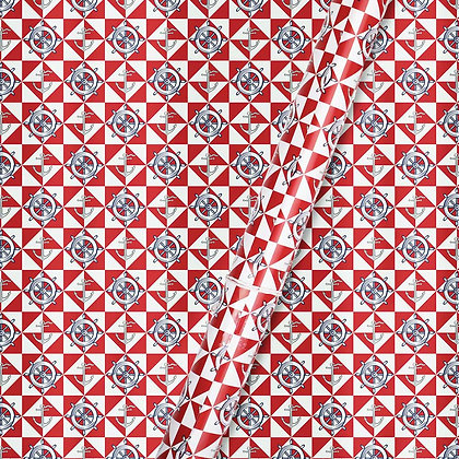 Nautical Wrapping Paper (Set of 5)