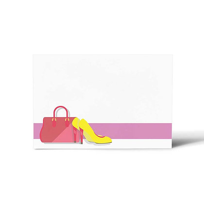 Glam Girl Flat Cards (Set of 40)