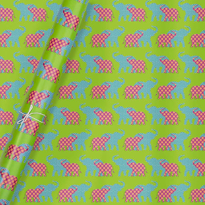 Elephant Wrapping Paper (Set of 5)