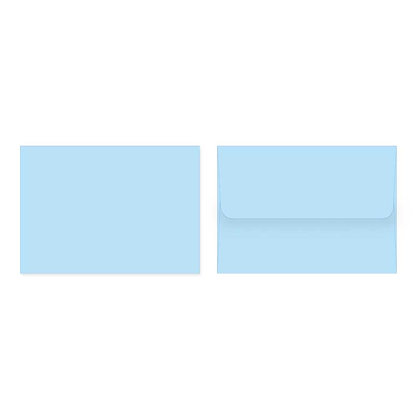 Fold Cards Envelopes (Set of 10) - Light Blue