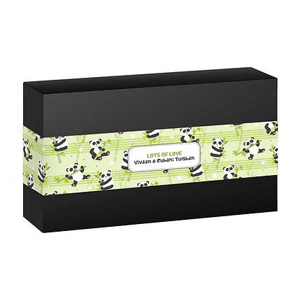Hello Panda Personalised Banner Bands (Set of 20)