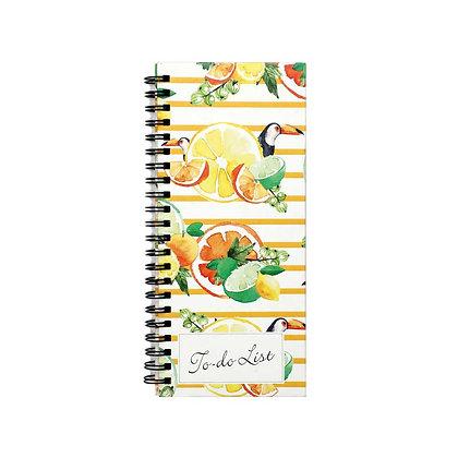 Citrus Summer To-Do Notebook
