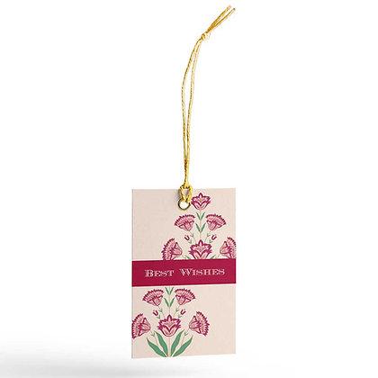 Mughal Phool Gift Tags (Set of 20)