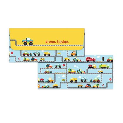 Trucks Money Envelopes (Set of 20)