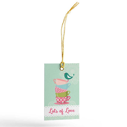 Tea Party Gift Tags (Set of 20)