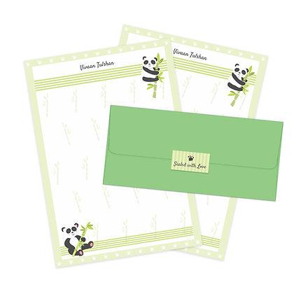 Hello Panda Letter Set