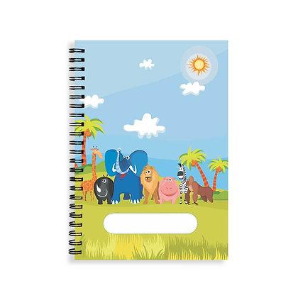 Jungle Animals Notebook