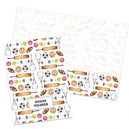 Game On Folders (Set of 2)