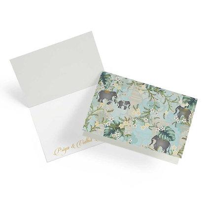 Royal Paradise Fold Cards (Set of 20)