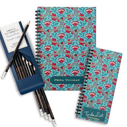 Desk Essentials Box-Mughal Jaali