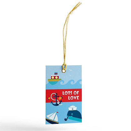Ships Ahoy Gift Tags