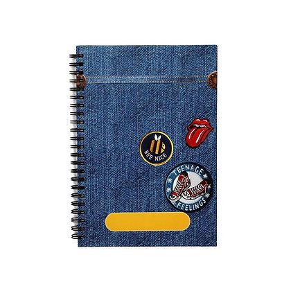 Denim Journal Notebook