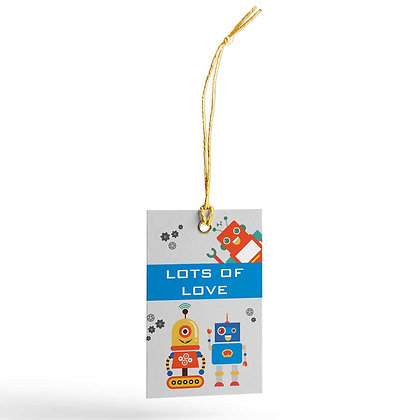 Robots Gift Tags