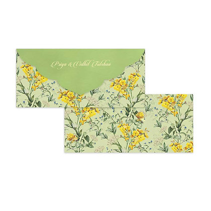 Wild Flower Money Envelopes (Set of 20)