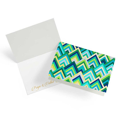 Forest Wave Fold Cards (Set of 20)