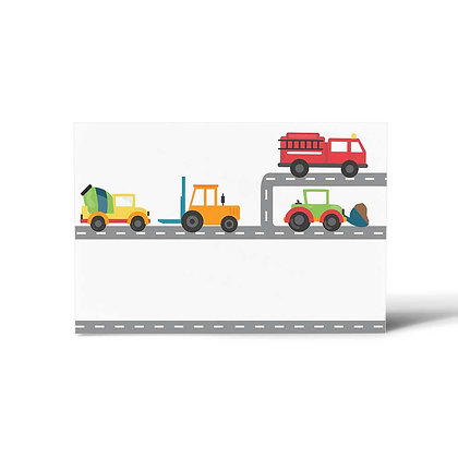 Trucks Flat Cards (Set of 40)