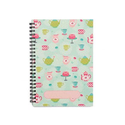 Tea Party Journal Notebook