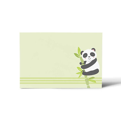 Hello Panda Flat Cards (Set of 40)