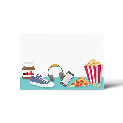 Movie Time Flat Cards (Set of 40)