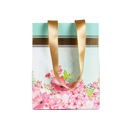 Painted Floral Small Bags (Set of 3)