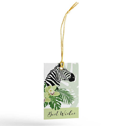 Peeping Zebras Gift Tags (Set of 20)