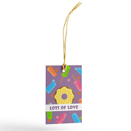 Lollies & Doughnuts Gift Tags