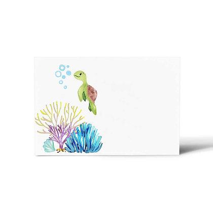 Underwater Flat Cards (Set of 40)
