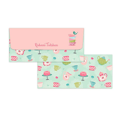 Tea Party Money Envelopes (Set of 20)