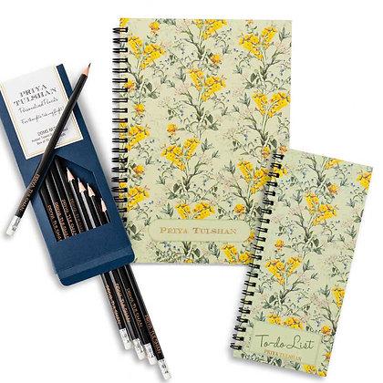 Desk Essentials Box-Wildflower