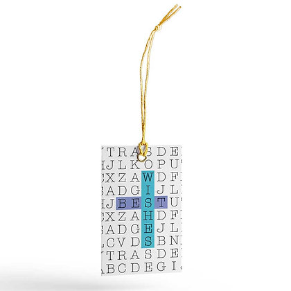 WordSearch Gift Tags (Set of 20)