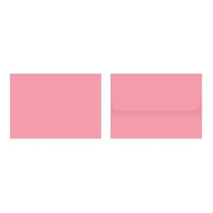 Fold Cards Envelopes (Set of 10) - Pink
