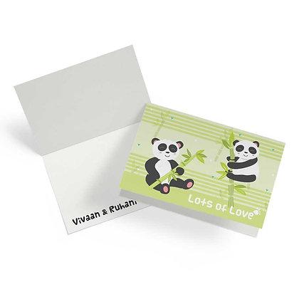 Hello Panda Fold Cards (Set of 20)