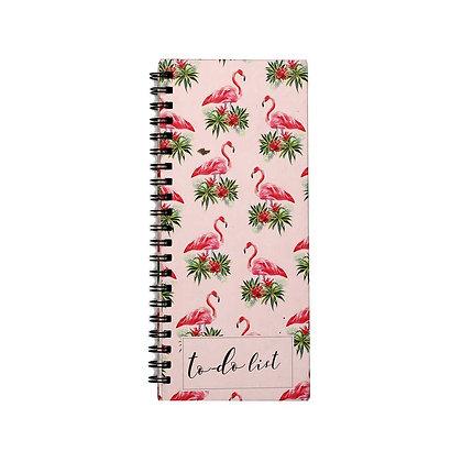 Flamingo To-Do Notebook