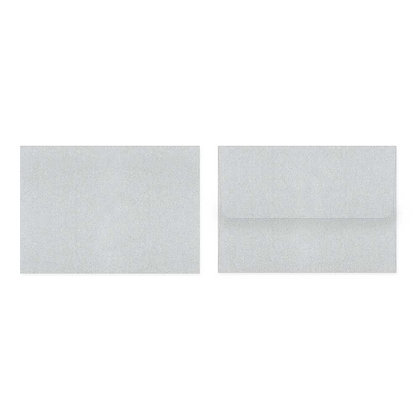 Fold Cards Envelopes (Set of 10) - Silver