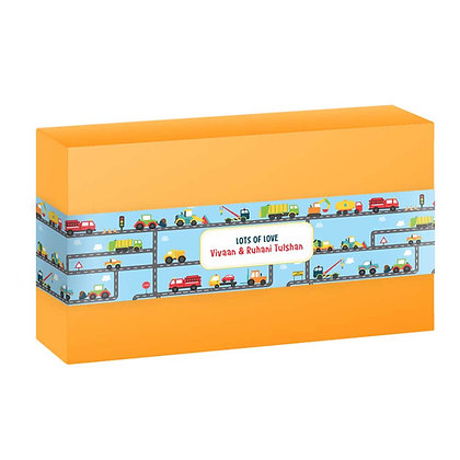Trucks Personalised Banner Bands (Set of 20)