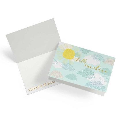 Monsoon Fold Cards (Set of 20)