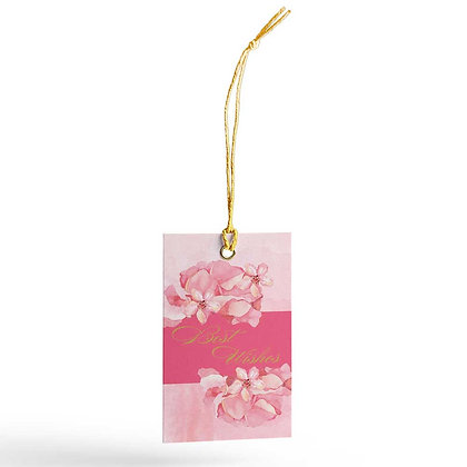 Painted Floral Gift Tags (Set of 20)