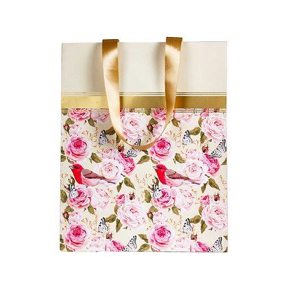 Vintage Floral Big Bags (Set of 3)