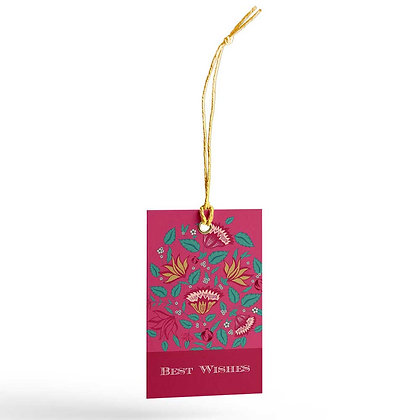 Mughal Jaali Gift Tags (Set of 20)