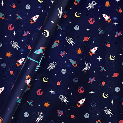 Space Wrapping Paper (Set of 5)