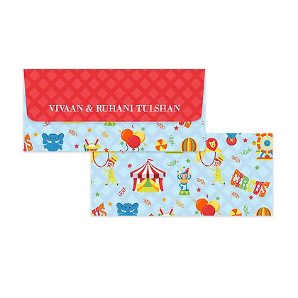 Circus Money Envelopes (Set of 20)