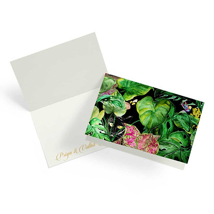 Night Forest Fold Cards (Set of 20)
