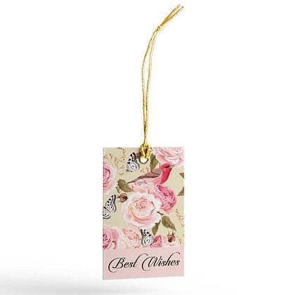 Vintage Floral Gift Tags (Set of 20)