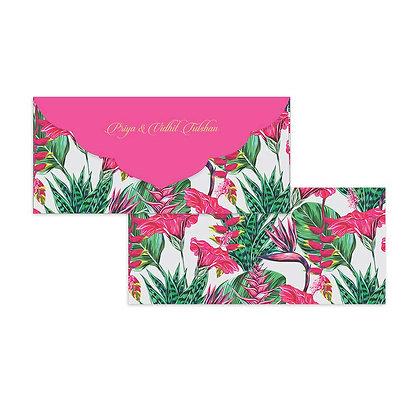 Exotic Floral Money Envelopes (Set of 20)
