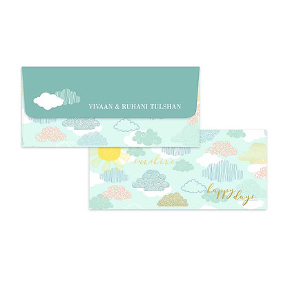 Monsoon Money Envelope (Set of 20)
