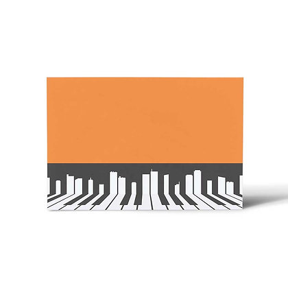 Piano Flat Cards (Set of 40)