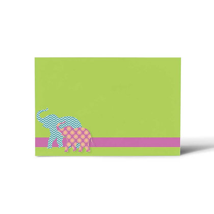 Elephant Flat Cards (Set of 40)