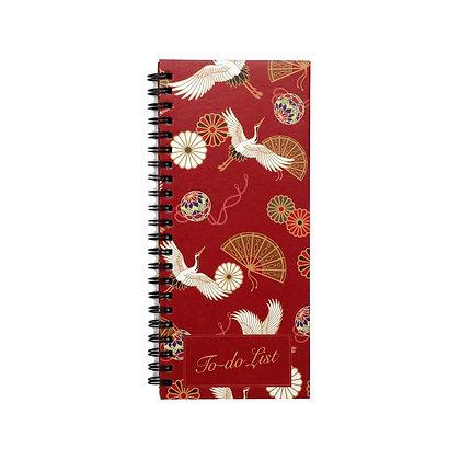 Oriental Flight To-Do Notebook