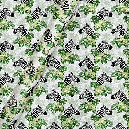 Peeping Zebras Wrapping Papers (Set of 5)
