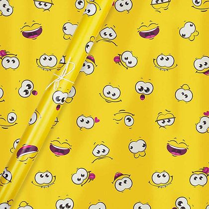 Smiley Wrapping Paper (Set of 5)